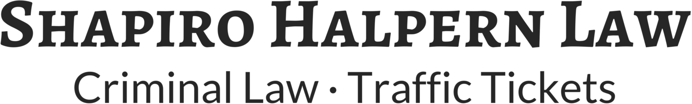 Shapiro Halpern Law Criminal Law & Traffic Tickets